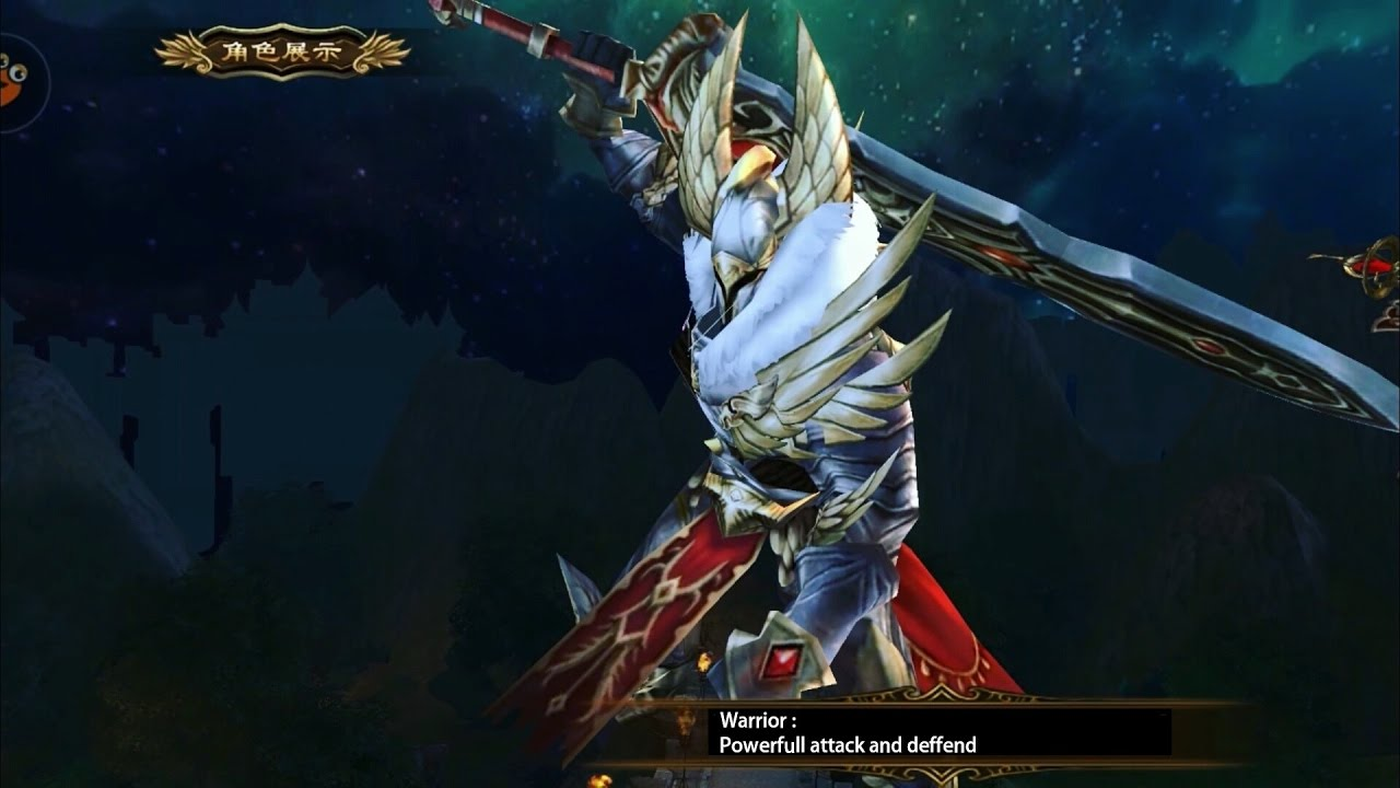 GENESIS WAR 创世战纪 Android IOS 3D MMORPG gameplay and apk
