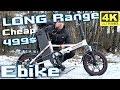 Samebike XMZ1214 13s 15Ah ⚡ Cheap LONG RANGE Electric Bike True story