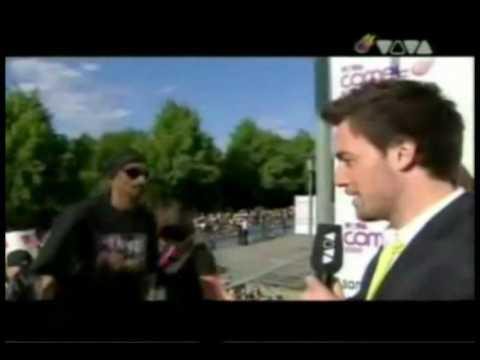 Timati & Snoop Dogg на красной ковровой дорожке COMET AWARDS 09.