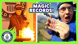Martin Rees: Skydiving Magician! - Meet The Record Breakers