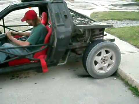 Ford SHO  mid engine RWD in a Fiero Redneck dune buggy