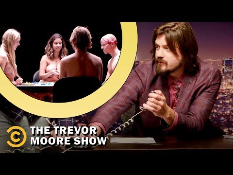 Achieving World Peace with Flat Earth Theory, Strip Board Games and Cool Cat - The Trevor Moore Show thumbnail
