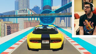 GTA 5 - CRAZY Stunt Races With My Subscribers !!!!