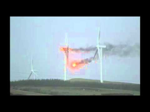 "Wind turbine ""freak accident"""