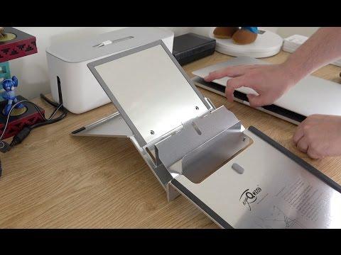 4920928fae7 Bakker Elkhuisen Ergo-Q 260 Portable Laptop Stand - YouTube