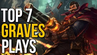 Top 7 Best Graves Plays of 2015 - Montage (League of Legends)