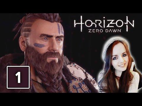 I'M BLOWN AWAY! Horizon Zero Dawn Gameplay Walkthrough Part 1