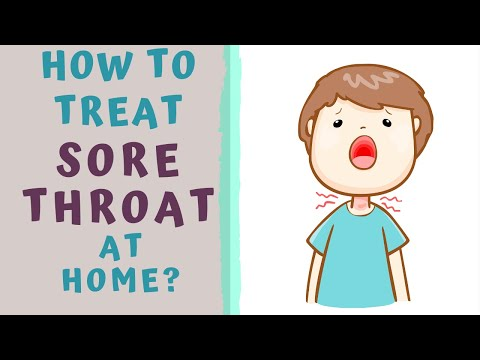 HOW TO TREAT SORE THROAT AT HOME AT HOME REMEDIES STREP THROAT