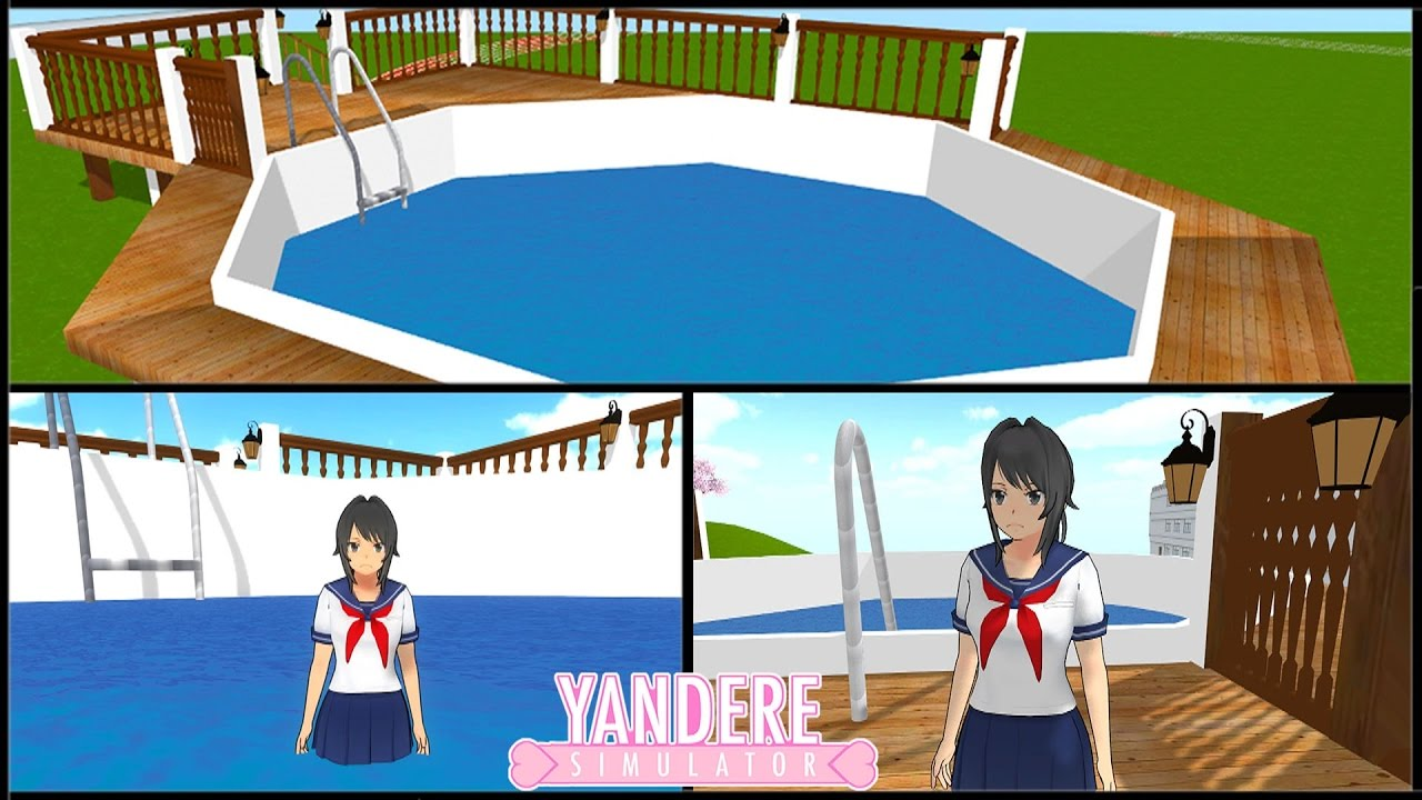 Une piscine dans yandere simulator youtube for Piscine simulator flex