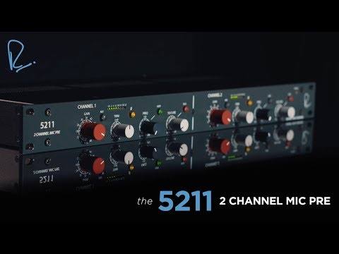 Rupert Neve Designs 5211 2-channel Microphone Preamp