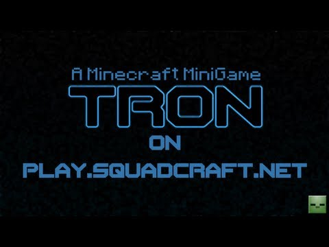 Minecraft Maps: Tron [Online][play.squadcraft.net] Videos De Viajes