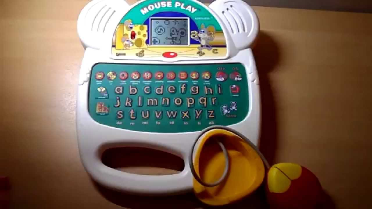 MOUSE PLAY KINDERGARTEN KIDS BRITISH ACCENT LEARNING LCD ...
