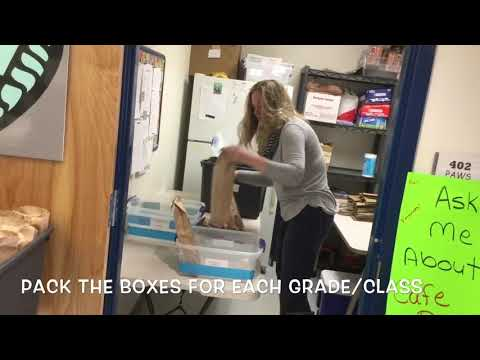 Volunteering with Cafe Days at Endeavor Charter School