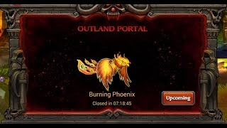 Heroes Charge-Outland Portal Burning Phoenix Diff 3
