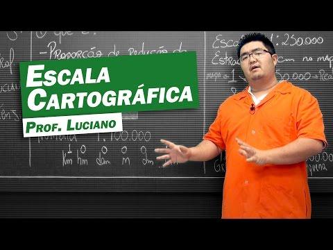 Geografia - Escala Cartográfica