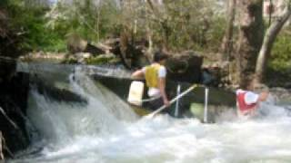 Extreme Sport Canoe Flip: Anthony Dill and Kevin Gin