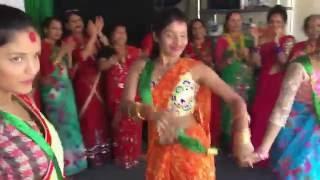 Teej in Richmond 2016 ( New Nepali Teej song 2016 )