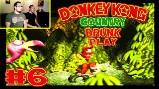 Donkey Kong Country (SNES) - Drunk Play Ep. 6 ft. Chris Evans and Johnny Saovi