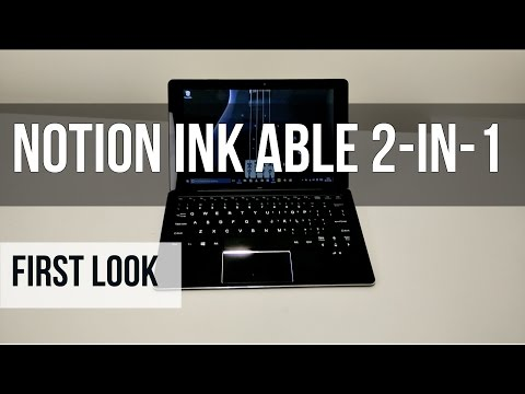 Notion Ink Able 2-in-1 Hybrid Tablet-cum-Laptop First Look | Digit.in