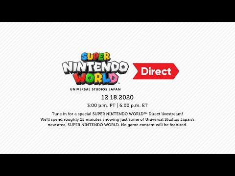 Super Nintendo World Direct 12.18.2020