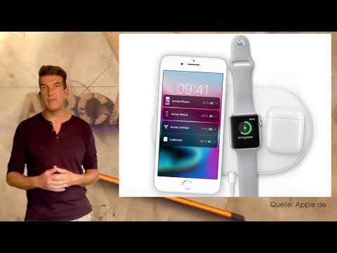 IPHONE 8 + X: Der QI-Standard