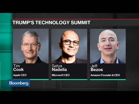 What Tech Giants Are Talking About at the White House