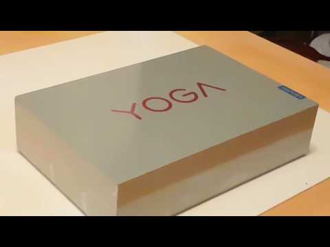 Unboxing brand new Lenovo Yoga 920 Vibes Limited Edition