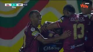 Tolima vs. Medellín (3-0) | Liga Aguila 2018-II | Fecha 10