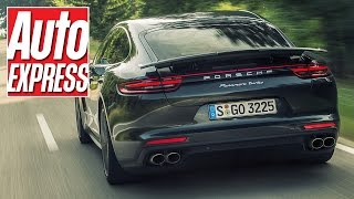 2016 porsche panamera review on the road in new stuttgart bahn stormer