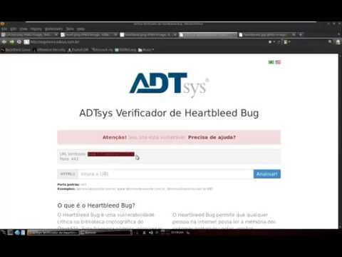 Ataque usando HeartBleed Bug