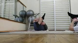 Часть №1 Упражнения для укрепления спины лежа на спине