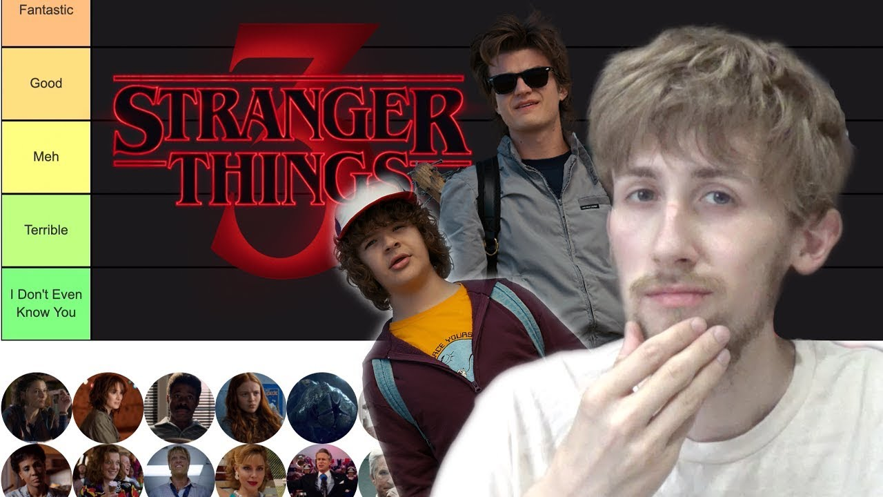 Stranger Things Characters Ran...