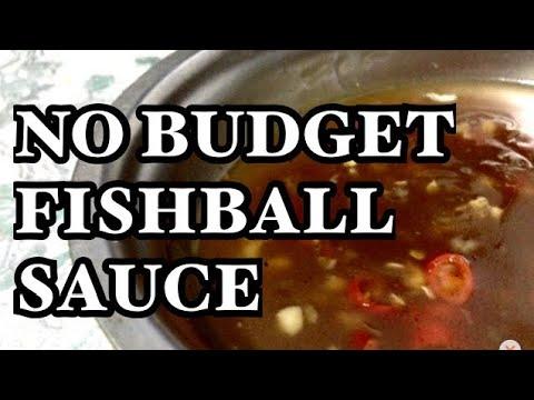 Low Budget Fishball/Kikiam Sauce | Philippines