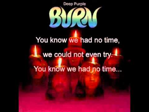 Burn- Deep Purple Lyrics