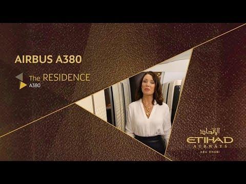 Dannii Minogue Explores The Residence - Airbus A380 - Etihad Airways