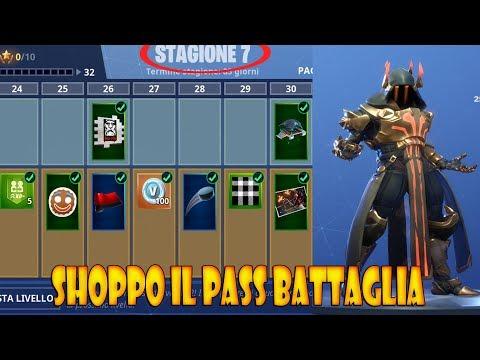 FORTNITE - SHOPPO IL PASS BATTAGLIA DELLA STAGIONE 7