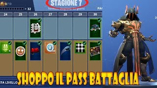 FORTNITE - SHOPPO THE PASS BATTLE OF SEASON 7