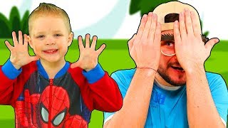 Peek A Boo Song #1 | Mirik Yarik Nursery Rhymes & Kids Songs