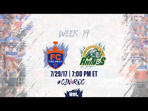 USL LIVE - FC Cincinnati vs Rochester Rhinos 7/29/17