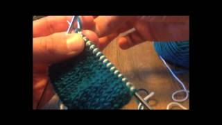 A Sockmatician Tutorial - Slip-Stitch Edges for Double-Knitting