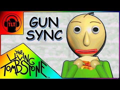 ♪ Basics in Behavior ♪ ~ Overwatch Gun Sync ~ Baldi's Basics Song w/Lyrics