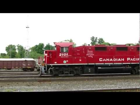 WTH?? CP 8853 departing Mactier Yard (17MAY2013) from YouTube · Duration:  3 minutes 14 seconds