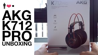 AKG K712 Pro Unboxing + First Impressions