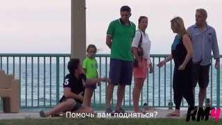Духовность и бездуховность.  Россия vs  США Эксперимент