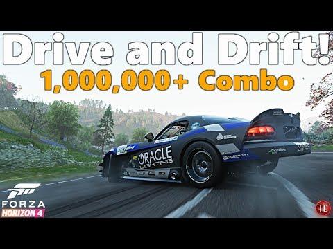 Forza Horizon 4: Formula Drift Viper Gameplay | Test Drive, Drift and 1,000,000+ Point Combo!