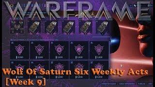 Warframe - Wolf Of Saturn Six Weekly Acts [Week 9]