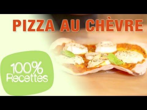 100%-recettes---pizza-au-chèvre