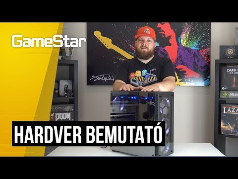 Radium STORM XT OC gamer PC bemutató
