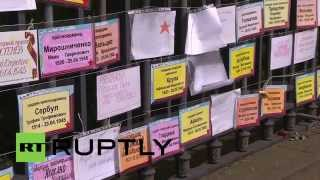 Germany: Touching tribute to Red Army in Berlin