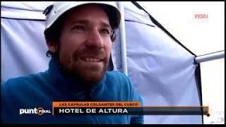 Descubre el hotel colgante del Valle Sagrado de los Incas